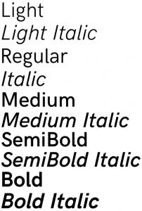 HK Grotesk font from FontSquirrel