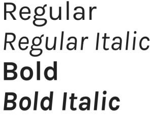 Karla font from Google Fonts