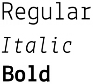 Lekton font from FontSquirrel