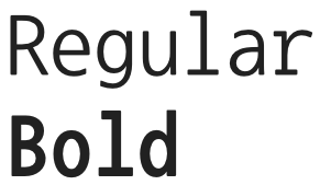 Nanum Gothic Coding font from Google Fonts