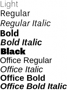 UnB font from FontSquirrel