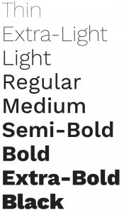 Work Sans font from Google Fonts
