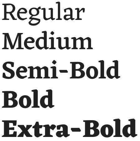 Eczar font from Google Fonts